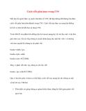Cách viết giản lược trong CSS