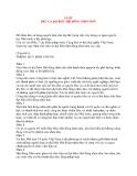 Tài liệu về luật bầu cử đại biểu hội đồng nhân dân