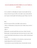 Tìm hiểu về LUẬT SỬA ĐỔI BỔ SUNG MỘT SỐ ĐIỀU CỦA LUẬT NGHĨA VỤ QUÂN SỰ