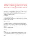 NGHỊ QUYẾT VỀ VIỆC CÔNG BỐ VÀ THI HÀNH LUẬT THUẾ DOANH THU, LUẬT THUẾ TIÊU THỤ ĐẶC BIỆT VÀ LUẬT THUẾ LỢI TỨC HỘI ĐỒNG NHÀ NƯỚC