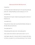 Y học cổ truyền kinh điển - sách Tố Vấn: Thiên ba mươi: DƯƠNG MINH MẠCH GIẢI