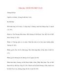 Y học cổ truyền kinh điển - sách Tố Vấn: Thiên bảy: ÂM DƯƠNG BIỆT LUẬN