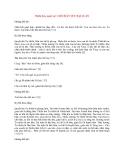 Y học cổ truyền kinh điển - sách Tố Vấn: Thiên bảy mươi tư: CHÍ CHÂN YẾU ĐẠI LUẬN