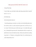 Y học cổ truyền kinh điển - sách Tố Vấn: Thiên mười hai: DỊ PHÁP, PHƯƠNG NGHI LUẬN