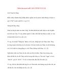 Y học cổ truyền kinh điển - sách Tố Vấn: Thiên tám mươi mốt: GIẢI TINH VI LUẬN