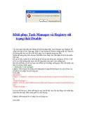 Khôi phục Task Manager và Registry từ trạng thái Disable
