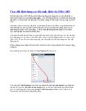 Thay đổi định dạng save file mặc định cho Office 2007