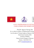 CIVIL ENGINEERING IN VIETNAM – CHALLENGES AND OPORTUNITES