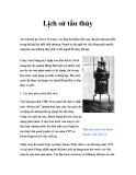 Lịch sử tầu thủy