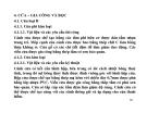 BÀI GIẢNG LẮP ĐẶT NỘI THẤT TÀU THUỶ & CÔNG TRÌNH BIỂN - PHẦN 4