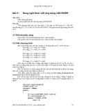 Hướng dẫn sử dụng Kit 89 - Bài 5