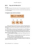 Hướng dẫn sử dụng Kit 89 - Bài 9