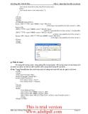 BÀI GIẢNG MÔN THIẾT KẾ WEB: NGÔN NGỮ JavaScript