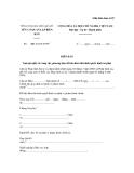 Mẫu biên bản số 07: Biên bản tạm giữ giấy tờ, tang vật, phương tiện để bảo đảm thi hành quyết định xử phạt