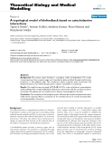 """Báo cáo y học: """" A topological model of biofeedback based on catecholamine interactions"""""""