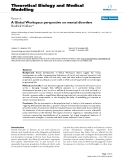 """Báo cáo y học: """"A Global Workspace perspective on mental disorders"""""""