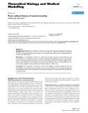 """Báo cáo y học: """"Free radical theory of autoimmunity"""""""
