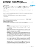 "Báo cáo y học: "" Out of hospital cardiac arrest outside home in Sweden, change in characteristics, outcome and availability for public access defibrillation"""