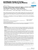"""Báo cáo y học: """" Precision of field triage in patients brought to a trauma centre after introducing trauma team activation guidelines"""""""
