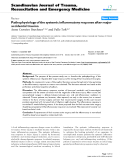 """Báo cáo y học: """" Pathophysiology of the systemic inflammatory response after major accidental trauma"""""""