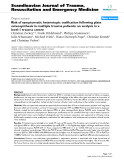 "Báo cáo y học: ""Risk of symptomatic heterotopic ossification following plate osteosynthesis in multiple trauma patients: an analysis in a level-1 trauma centre"""