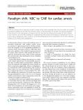 """Báo cáo y học: """"Paradigm shift: 'ABC' to 'CAB' for cardiac arrests"""""""