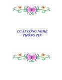 VĂN BẢN VỀ LUẬT CÔNG NGHỆ THÔNG TIN