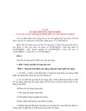 Tài liệu LUẬT SỬA ĐỔI, BỔ SUNG MỘT SỐ ĐIỀU CỦA CÁC LUẬT LIÊN QUAN ĐẾN ĐẦU TƯ XÂY DỰNG CƠ BẢN