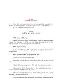 Tìm hiểu về LUẬT NGƯỜI CAO TUỔI