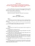 PHÁP LỆNH CỦA ỦY BAN THƯỜNG VỤ QUỐC HỘI VỀ THẨM PHẤN VÀ HỘI THẨM TÓA ÁN NHÂN DÂN