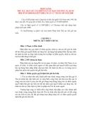 PHÁP LỆNH THỦ TỤC BẮT GIỮ TÀU BIỂN