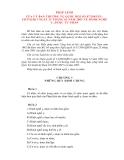 PHÁP LỆNH CỦA ỦY BAN THƯỜNG VỤ QUỐC HỘI VỀ HÀNH NGHỀ Y, DƯỢC TƯ NHÂN