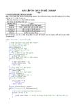 Bài tập ôn thi C Sharp