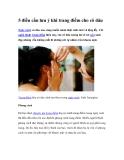 5 điều cần lưu ý khi trang điểm cho cô dâu
