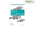 xslt cookbook phần 1