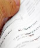 Thông tư, Quy định về kiểm soát nội bộ, kiểm toán nội bộ Ngân hàng Nhà nước Việt Nam