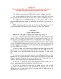 THÔNG TƯ Hướng dẫn thực hiện một số nội dung về công chứng viên