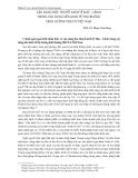 Vận dụng học thuyết kinh tế Mác Lênin trong xây dựng nền kinh tế thị trường định hướng XHCN ở Việt Nam