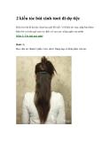 2 kiểu tóc búi xinh tươi đi dự tiệc