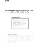 Giáo trình hình thành ứng dụng kỹ thuật IGRP với cấu trúc lệnh running config p1