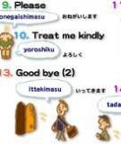 Tài liệu học Tiếng Nhật Bản