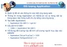 ngôn ngữ lập trình :Đối tượng Application