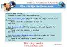 Cấu trúc tập tin Global.asax