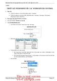 Phát triển Web với công nghệ Microsoft ASP.NET & MS SQL Server 2005