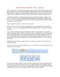 DB2 9 và Microsoft Excel 2007 - Phần 1: Lấy dữ liệu DB2