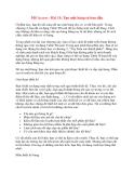 MS Access - Bài 15: Tạo một bảng từ ban đầu Ở phần này, bạn đã sẵn sàng