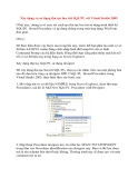Xây dựng, sử dụng thủ tục lưu trữ SQL/PL với Visual Studio 2005