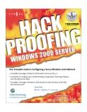 w2kserver book hack proofing windowns 2000 server phần 1