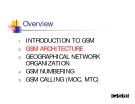 MẠNG GSM - PHẦN 2