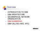 MẠNG GSM - PHẦN 4